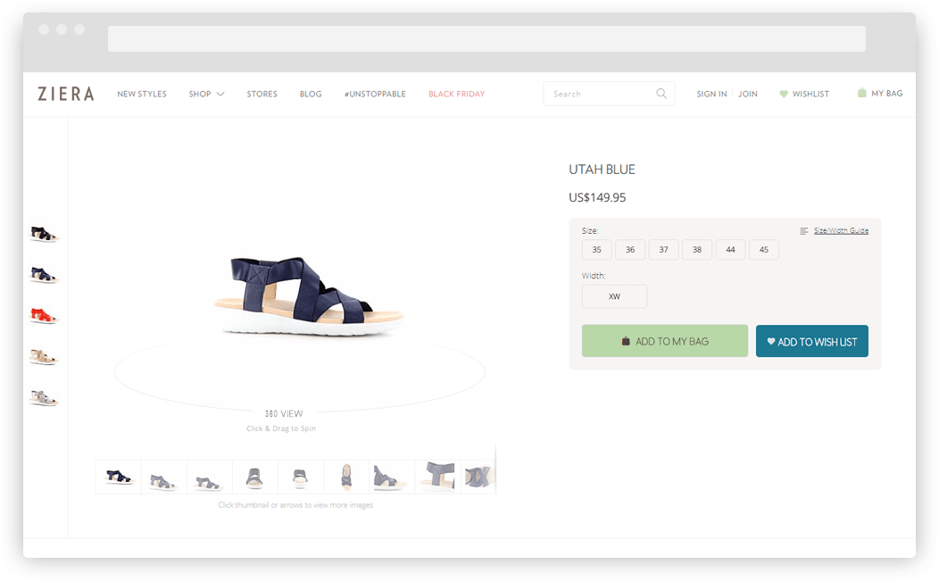 Ziera-product-page