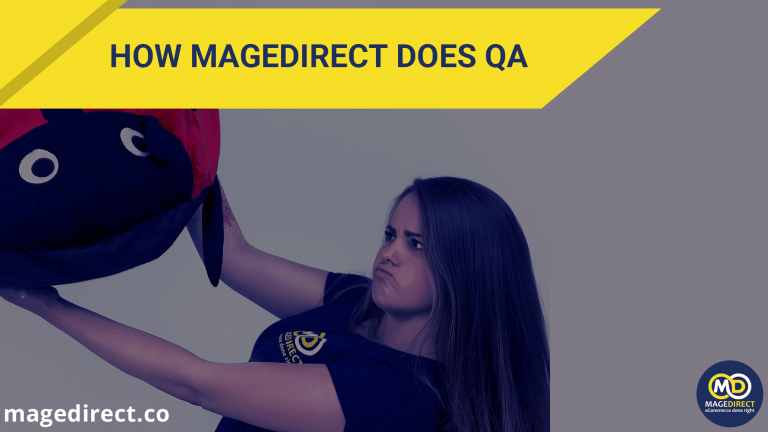 How magedirect does QA
