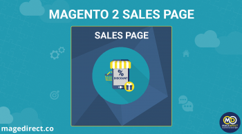 Magento 2 sales page banner