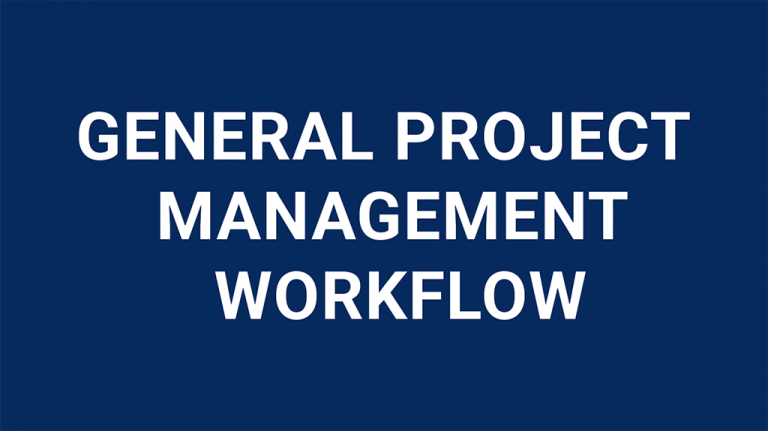general-project-management-workflow