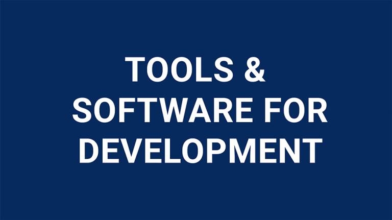tools-and-software-for-development